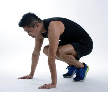 Squat Sumo en action, bonne au mauvaise posture