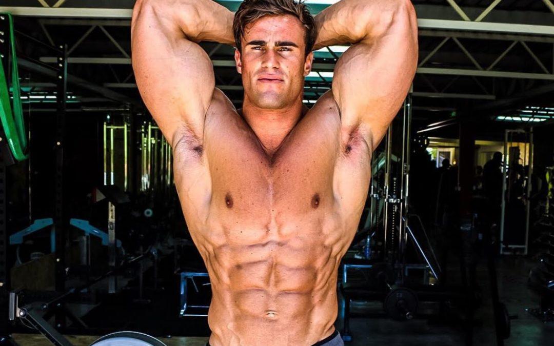 Calum Von Moger, des muscles d'acier !
