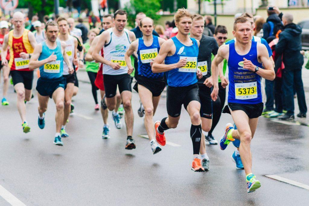 Coureurs de marathon