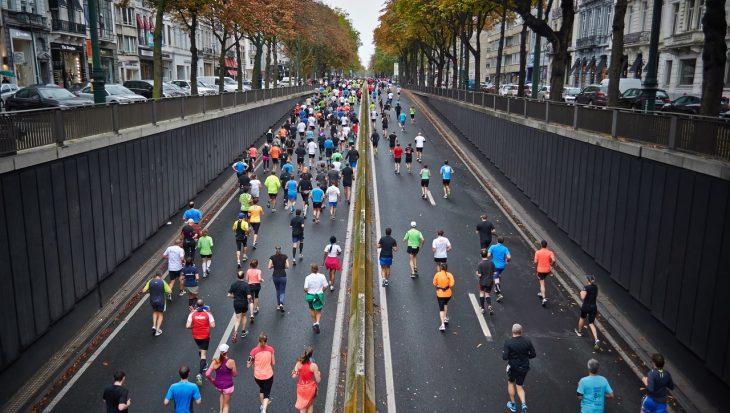 Marathon en cours