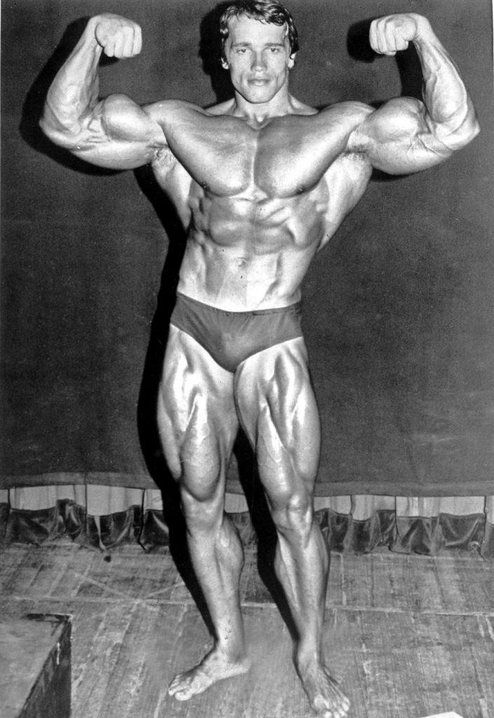 Arnold Schwarzenegger en 1974