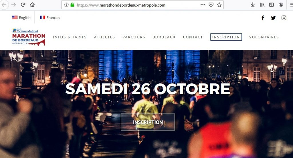 Site officiel du marathon de bordeaux