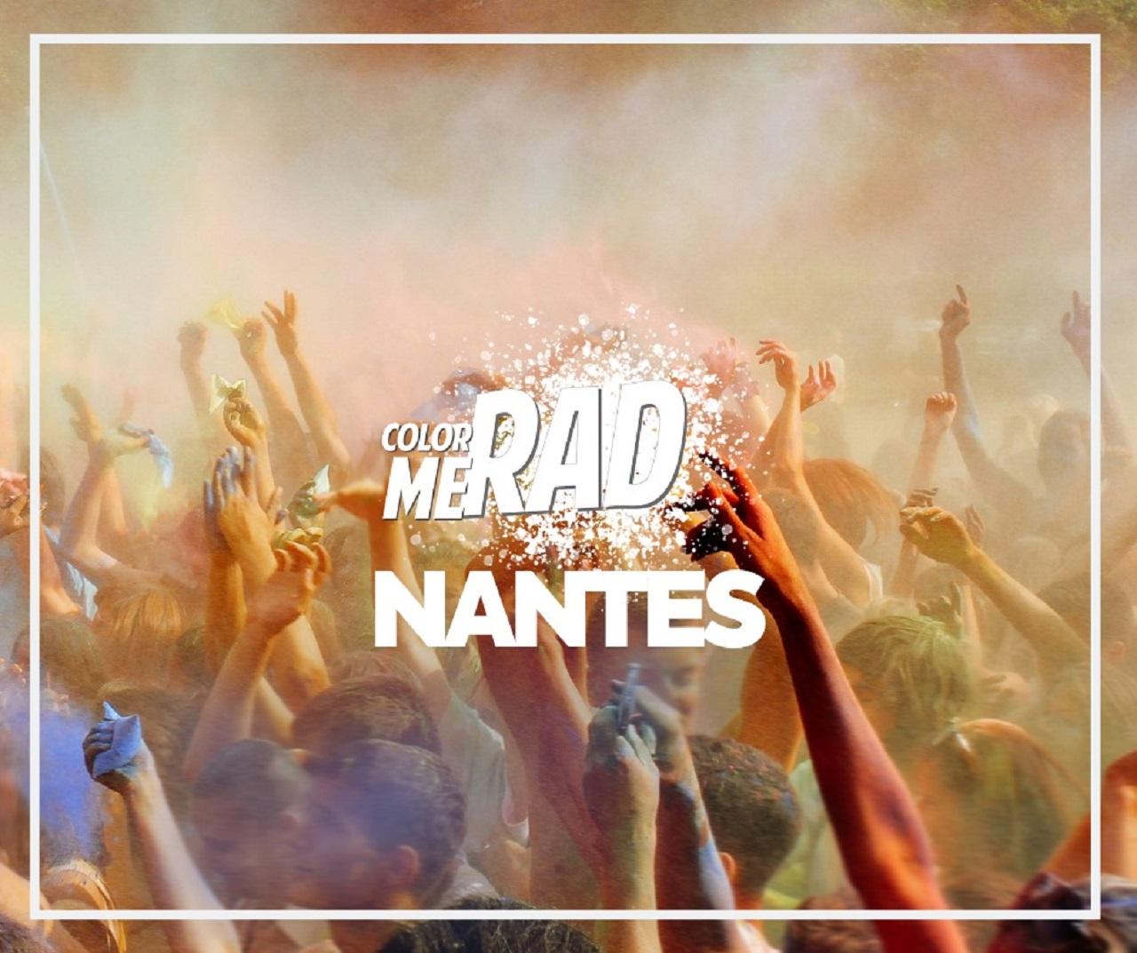 Le Color Me Rad à Nantes : une course haute en couleur