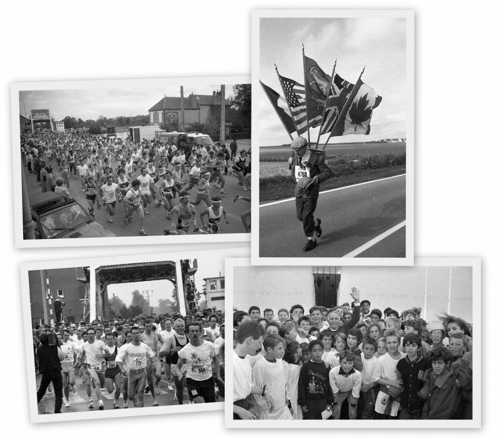 Le marathon de la liberté à Caen