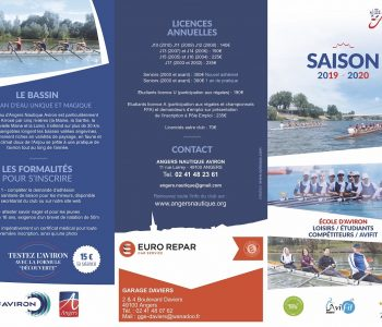 Pratiquer de l'aviron à Angers