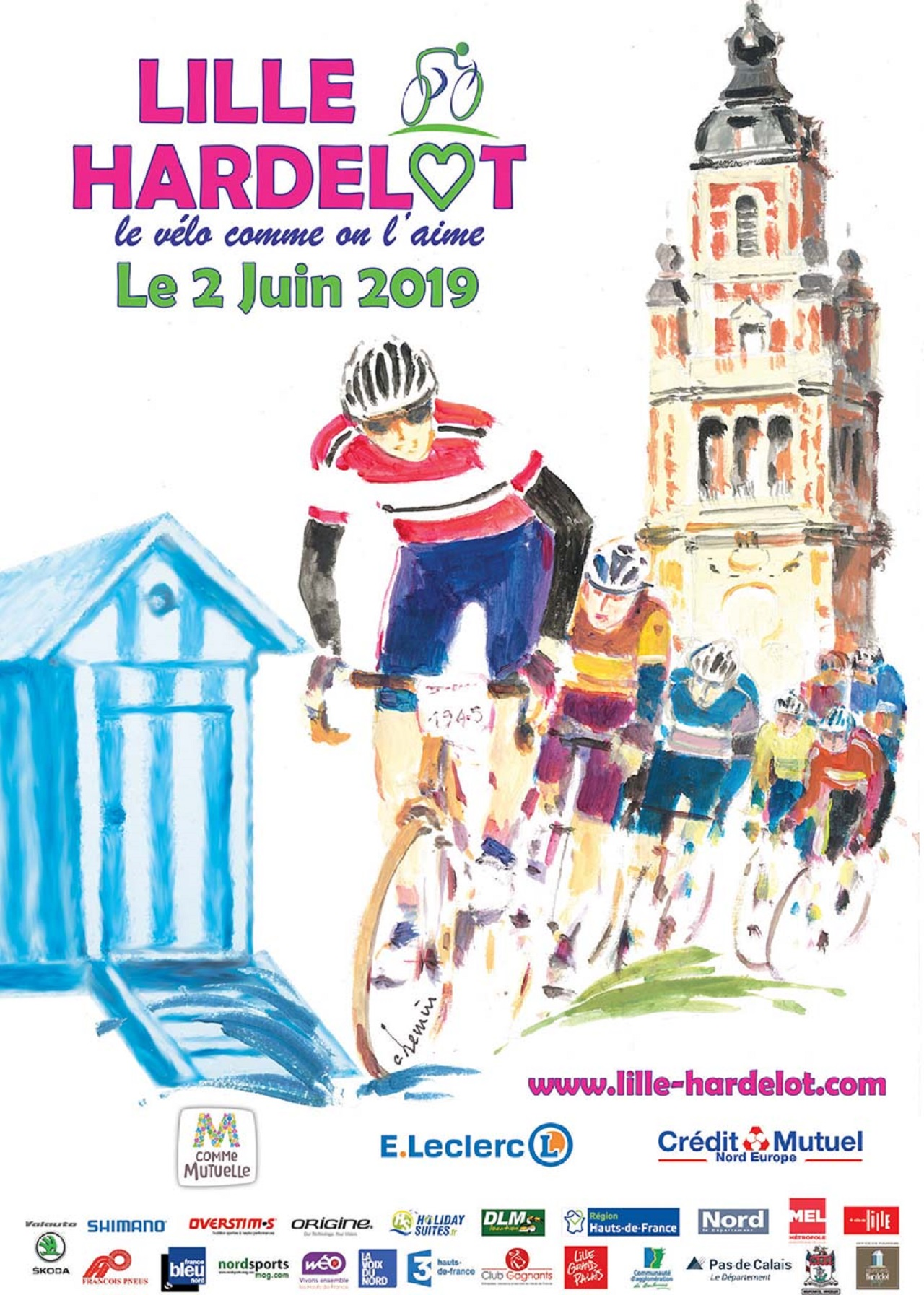 Randonnée cyclotouriste Lille Harledot
