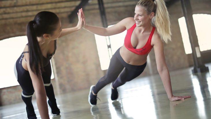Fitness à la salle de sport