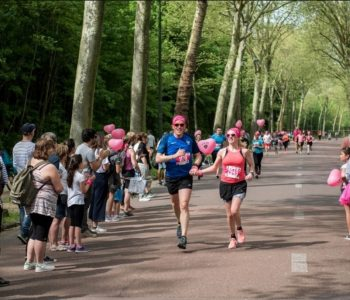 Des coureurs du Love Run de Paris