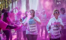 Des coureurs du Color Run Paris