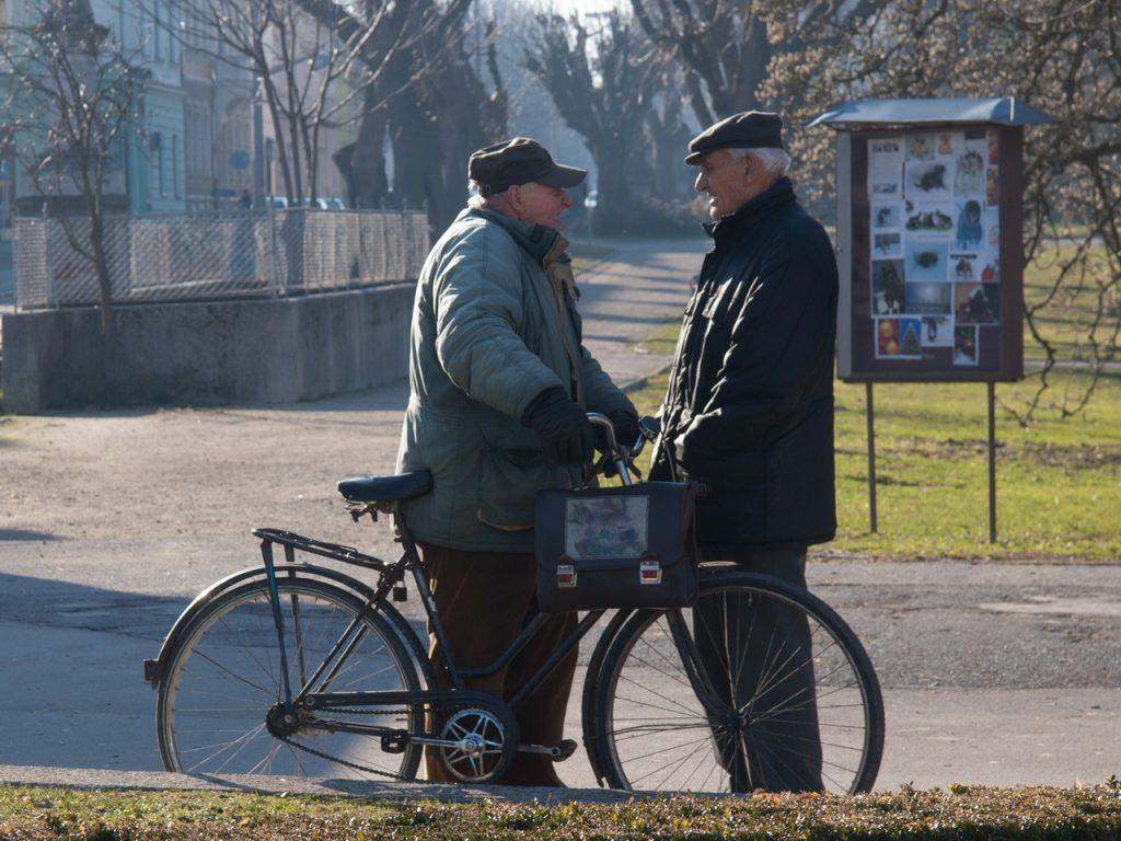 Un vélo électrique pour les personnes âgées