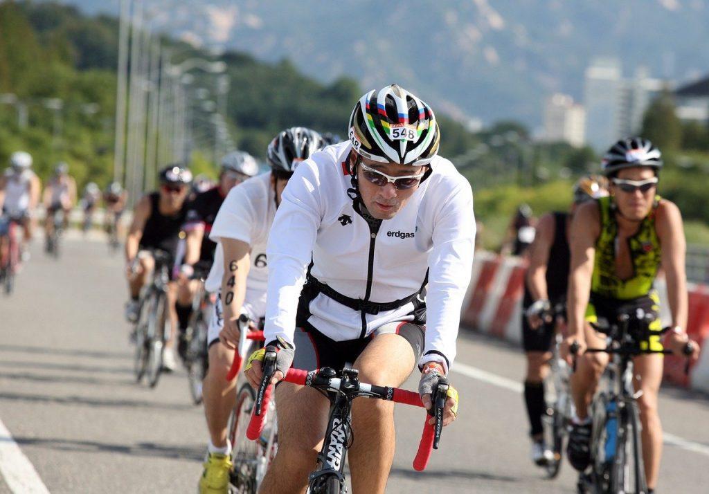 course de vélolors d'un Ironman
