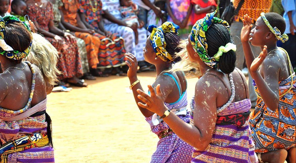 Danse africaine, sport en D