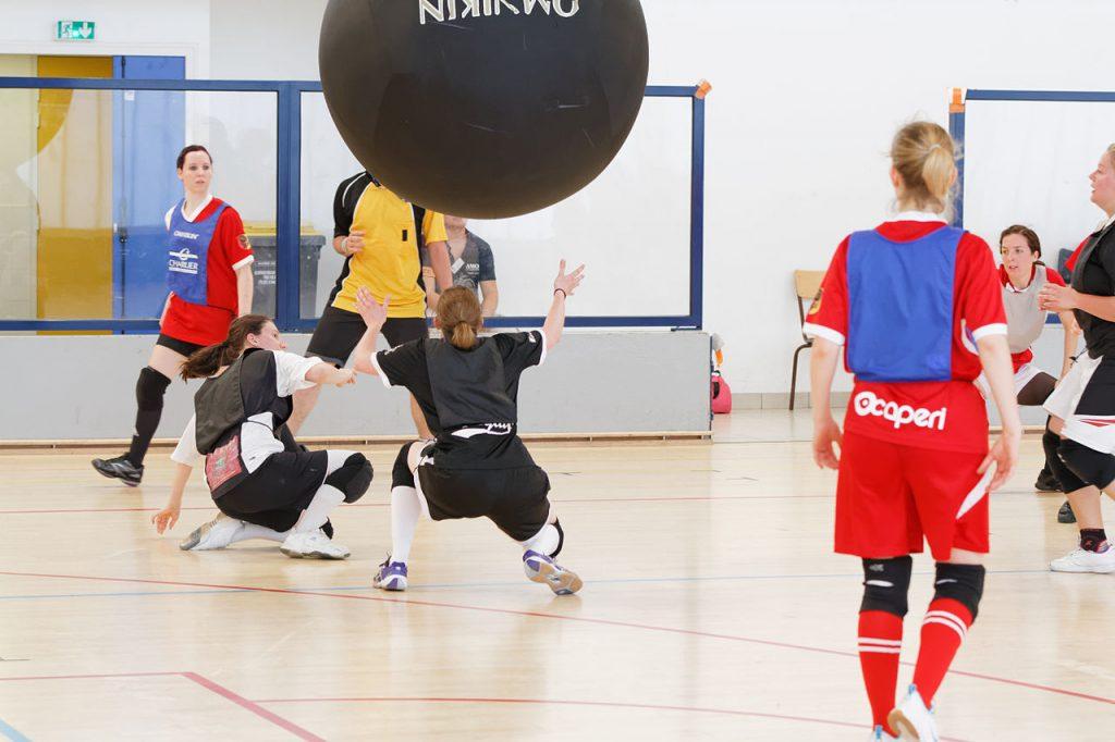 Kin-Ball, sport en K
