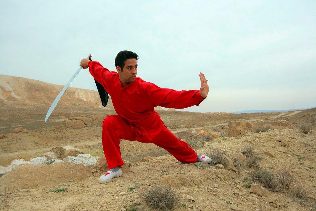 kung fu, sport en K