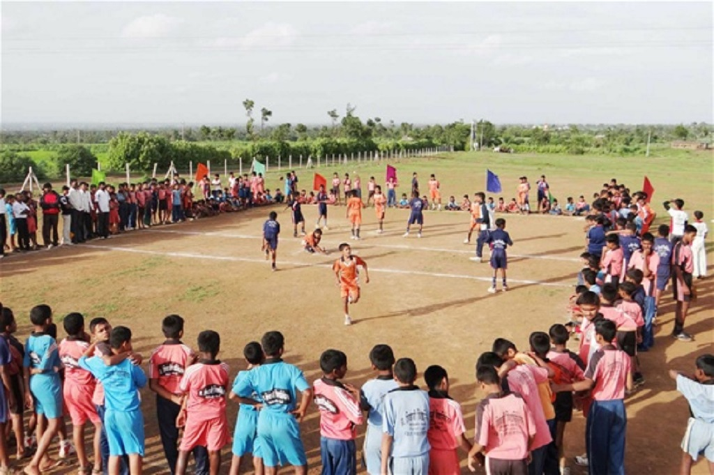 Lagori, un sport indien