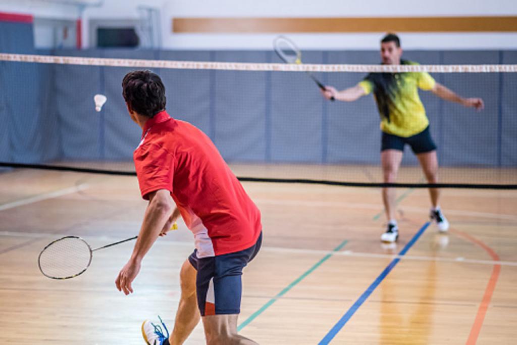 badminton, un sport en B
