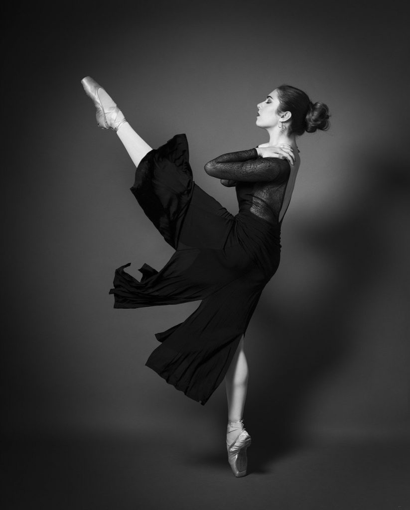 Danse classique, sport en D