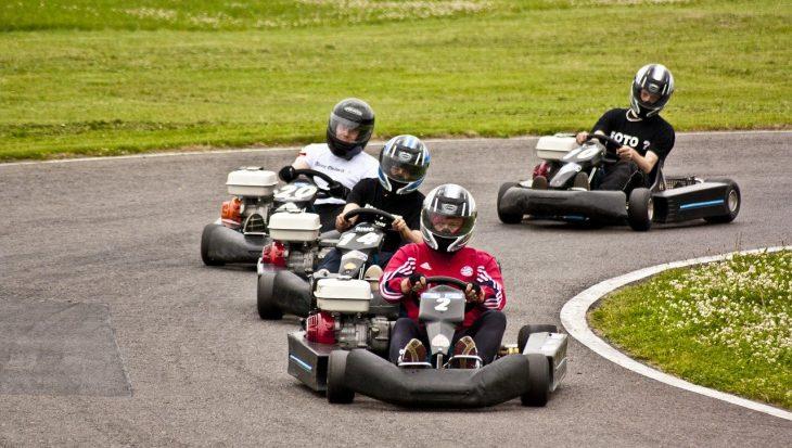 karting, sport en K