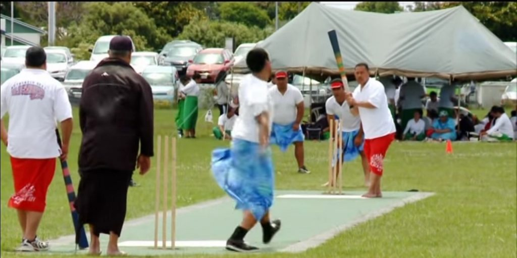 kilikiti, le cricket des Îles Samoa