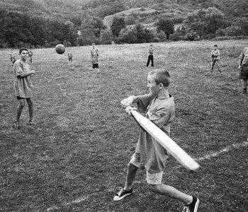 Oina, un sport traditionnel roumain