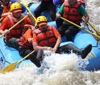 compétition de rafting