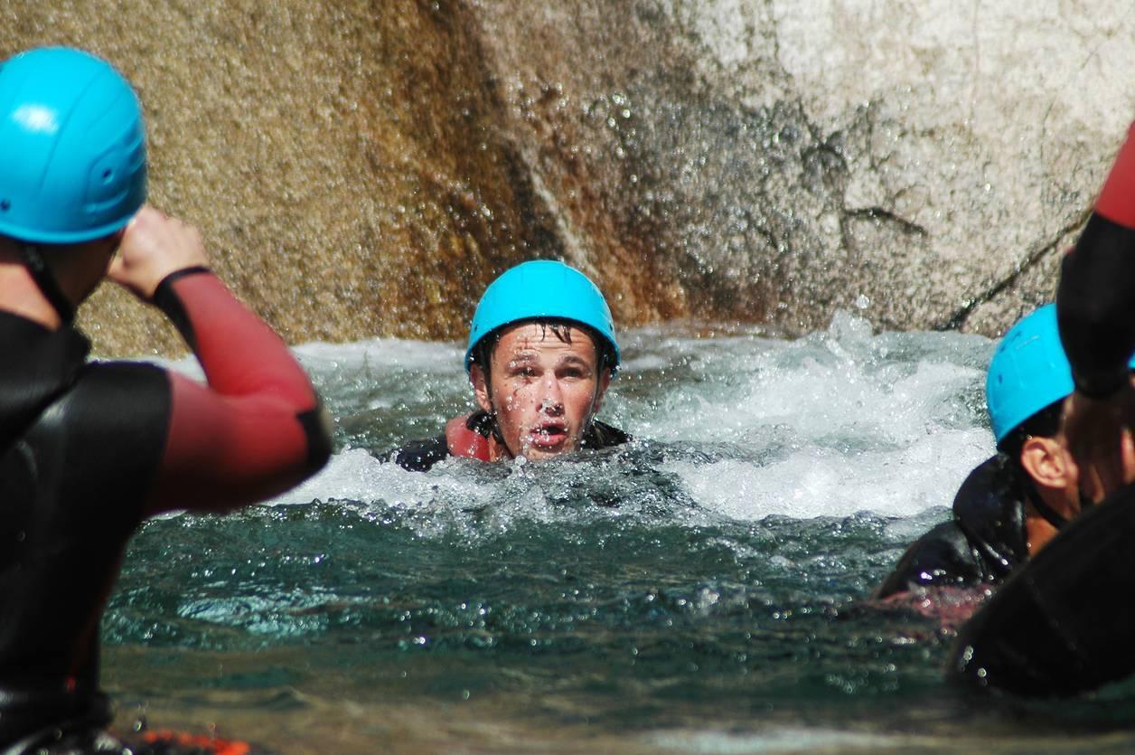 canyoning sécurité, rôle du guide